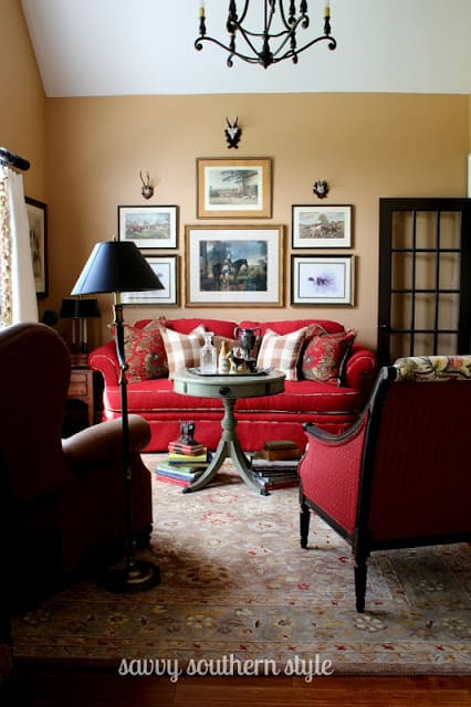 Savvy Southern Style sitting room