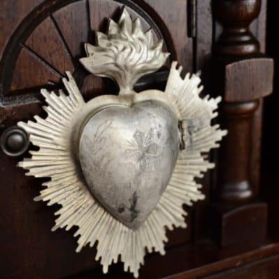 Vintage Sacred Heart Inspired Lockets