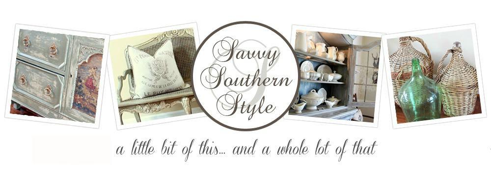 Savvy Southern Style blog