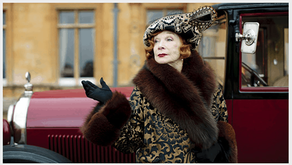 Shirley MacLaine Downton Abbey series 3