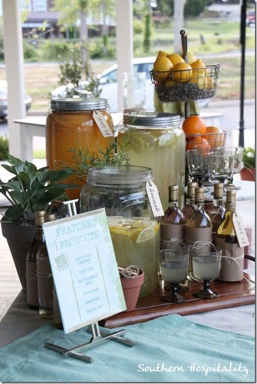 Southern Living Idea House on Southern Hospitality blog