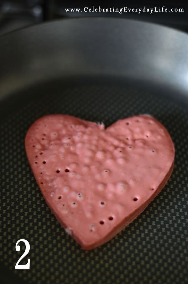 Recipe for Strawberry Pancakes, Valentines Day Recipes