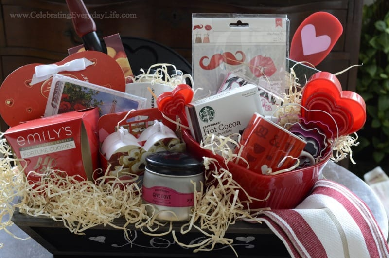 Valentine Breakfast Basket Giveaway