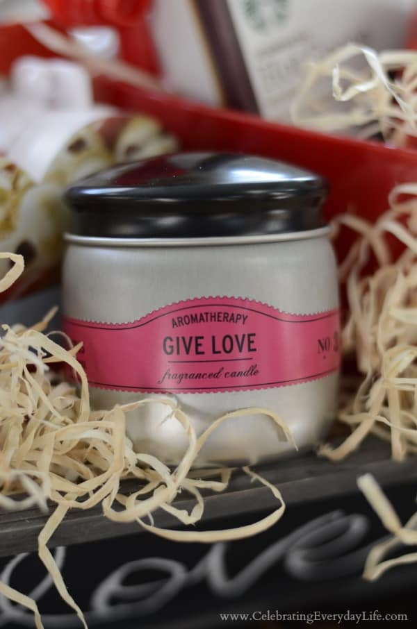 Give Love candle
