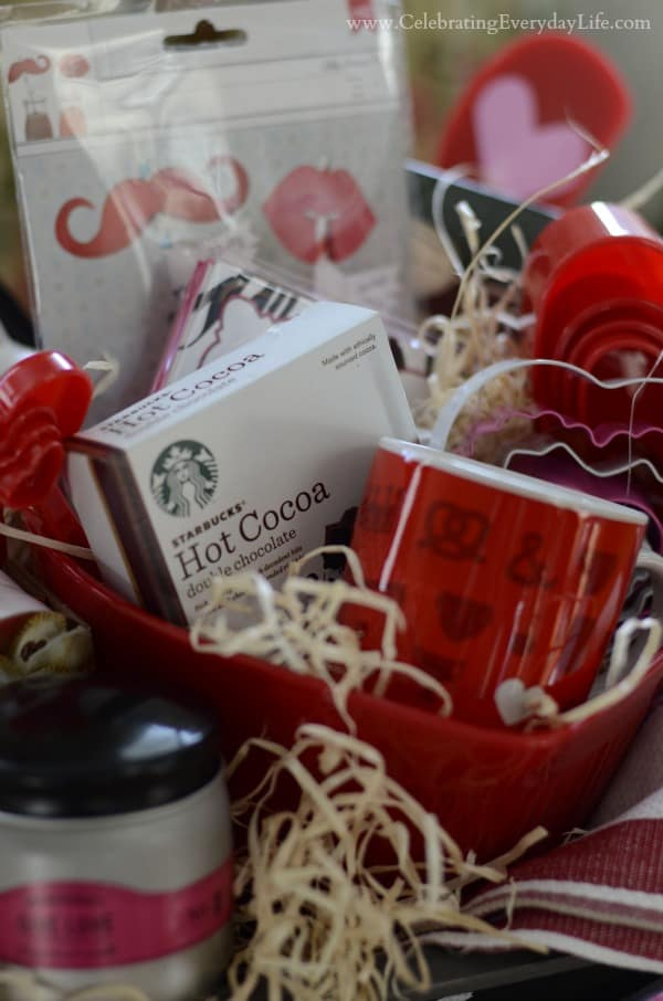 Valentine Breakfast in Bed Gift Basket group2