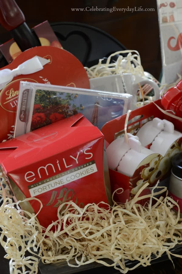 Valentine Breakfast in Bed Gift Basket group1