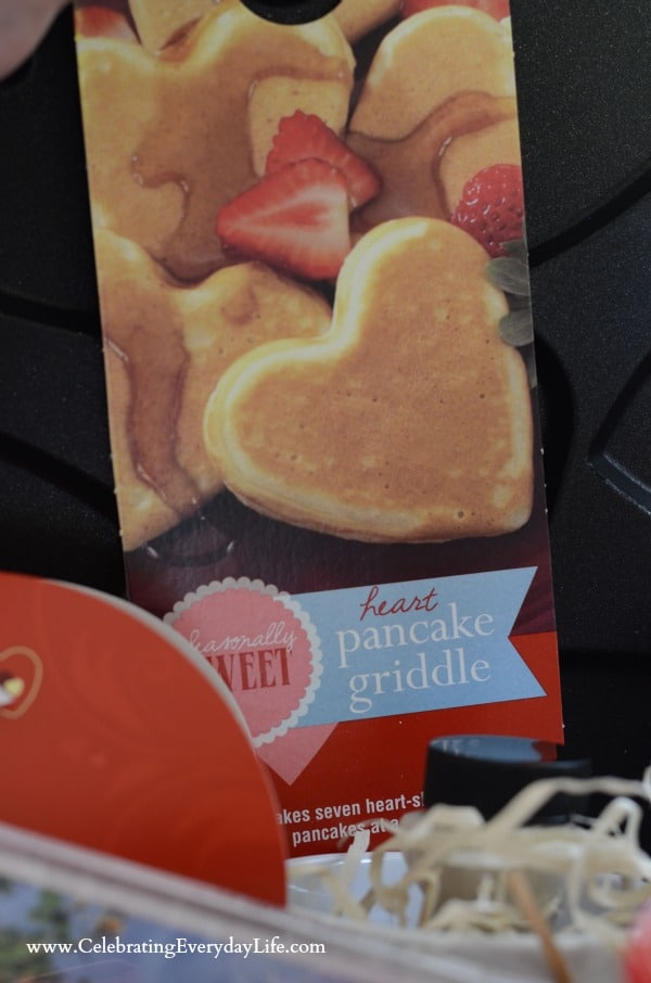 heart-shaped pancake griddle Pan