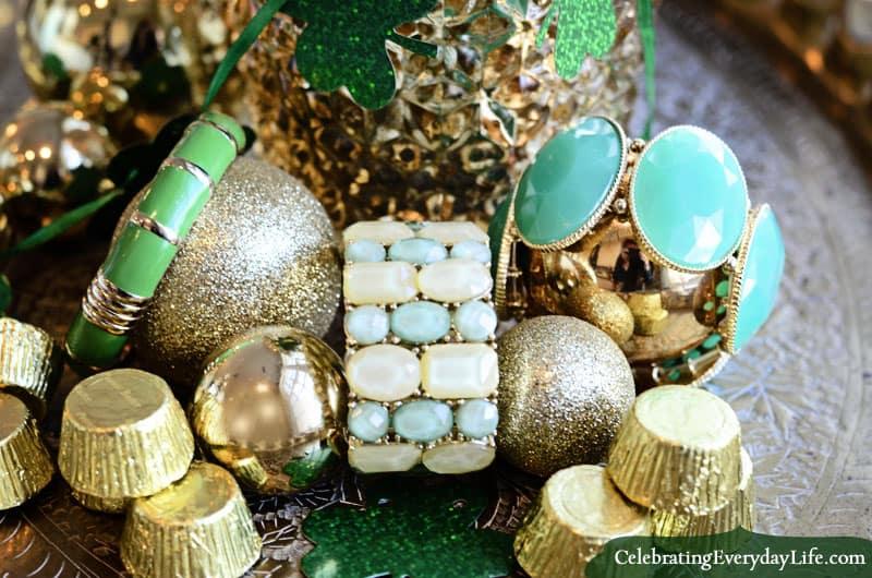 Green Bracelets from Target