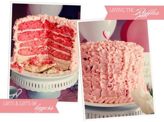 Emma Ruffle Cake