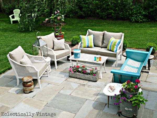 Patio from Eclectically Vintage