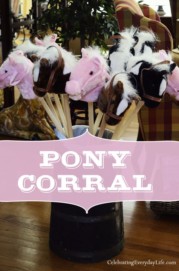Pony Corral, Stick Horses