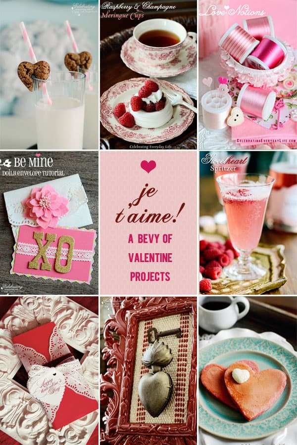 Valentine Projects and Recipes