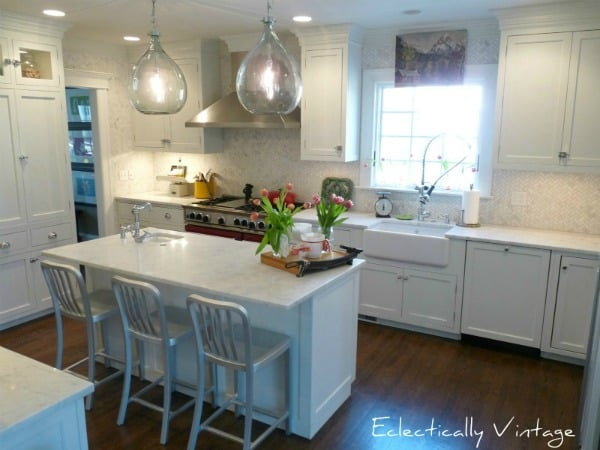 kitchen at Eclectically Vintage