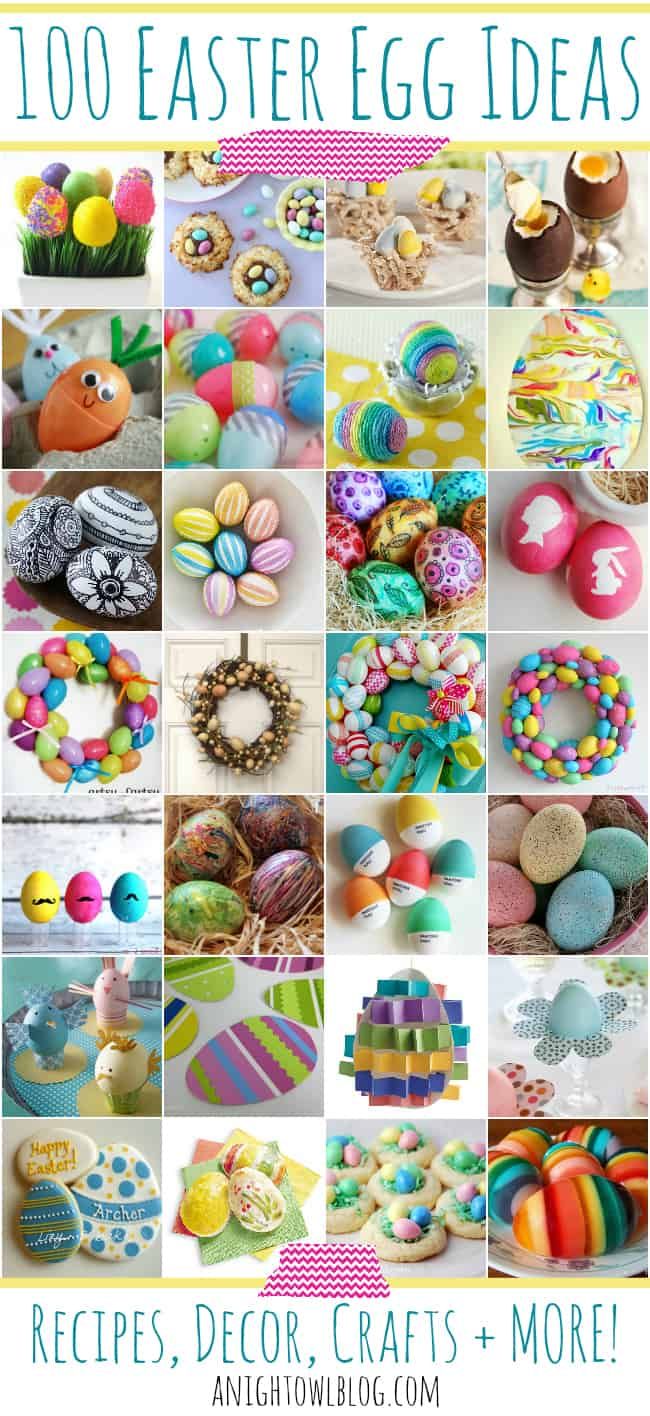 100 Easter Ideas from A Night Owl Blog
