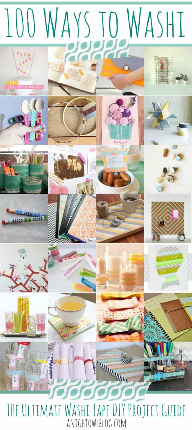 100 Ways to Washi from A Night Owl Blog