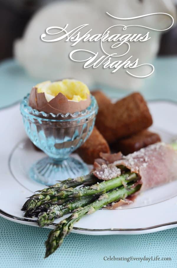 Asparagus Wraps recipe, Asparagus recipe