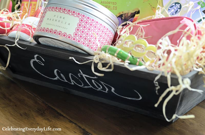 Ultimate Easter Basket, Chalkboard tray