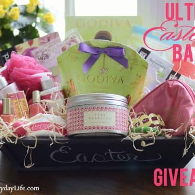 Ultimate Easter Basket Giveaway on Facebook!