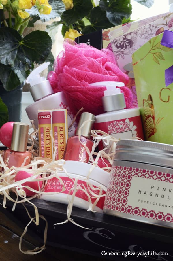 Dream Easter Basket Giveaway, Spa Items, Pampering Items, Burt's Bees, Scent Bar in Los Angeles