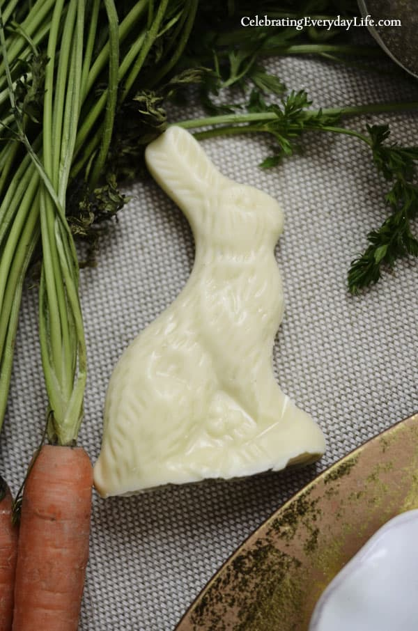 White Chocolate Bunny