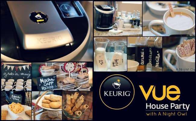 keurig coffee party from A Night Owl blog