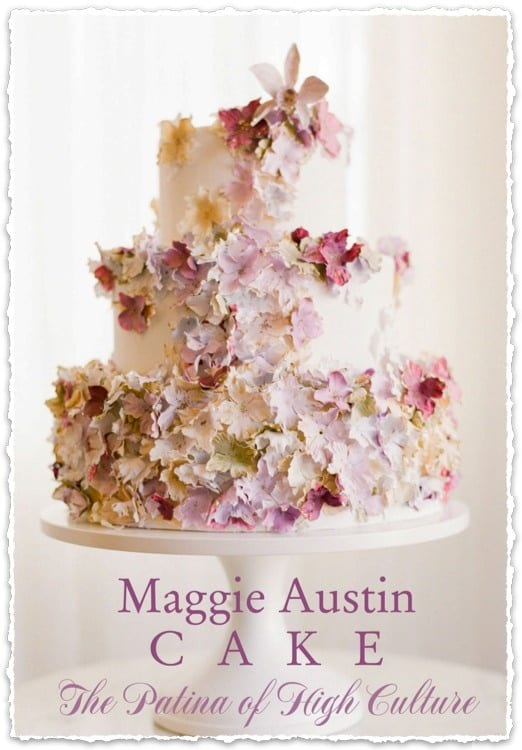 Maggie Austin Wedding Cake from the May/June 2013 Celebrating Everyday Life with Jennifer Carroll