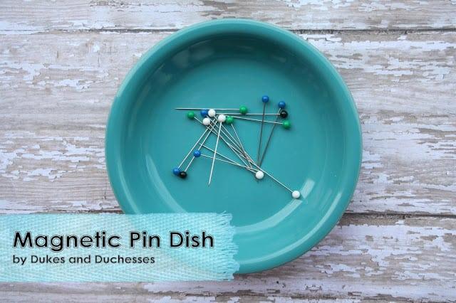Magnetic Pin Dish