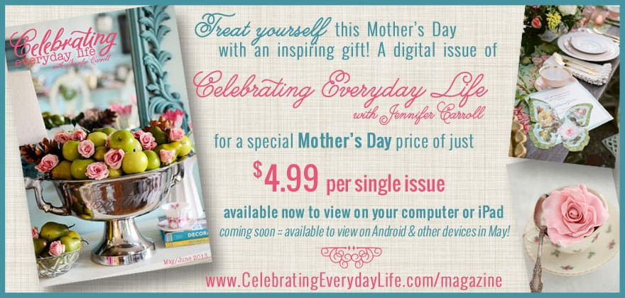 Celebrating Everyday Life Mothers Day Promotion