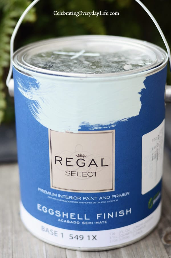 Custom Blend Paint Color by Benjamin Moore, Celebrating Everyday Life Blog, How to Choose Paint Colors for Your Home