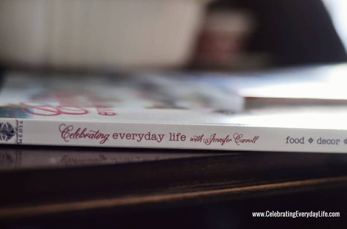 Celebrating Everyday Life with Jennifer Carroll Print Edition