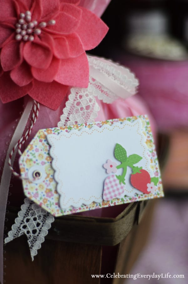Martha Stewart Craft Strawberry Tag