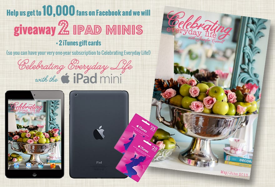 iPad mini Giveaway Banner