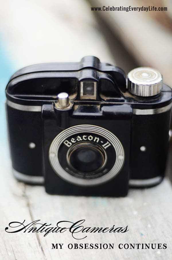 Vintage camera, lucketts spring market