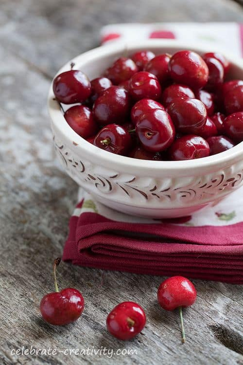 Bowl of Cherries, Celebrate Creativity Blog