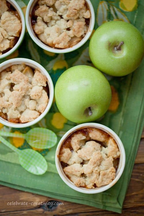Apple Crumble from Celebrate Creativity blog
