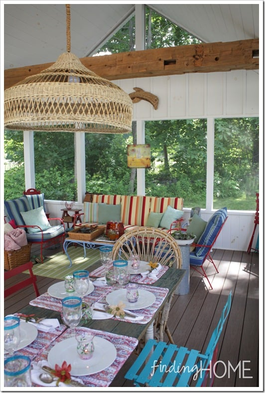 finding home screened porch