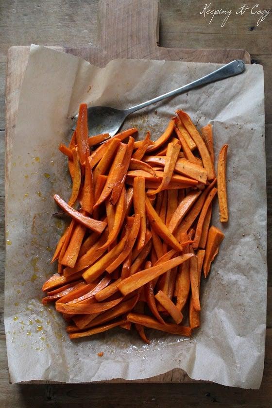Keeping It Cozy, Sweet Potato Fries