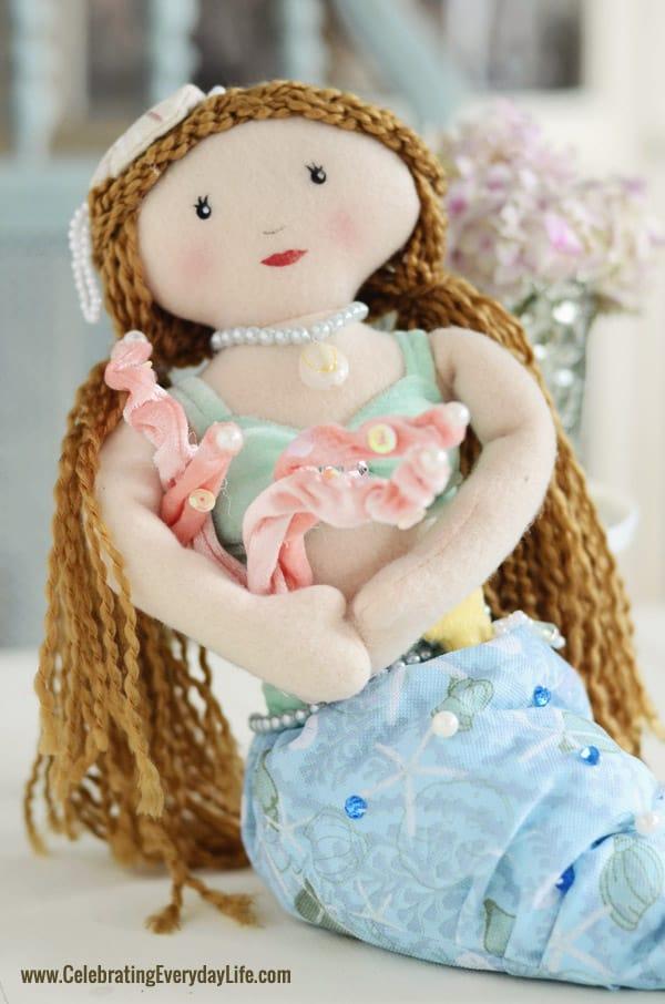 Mermaid doll from Cracker Barrel