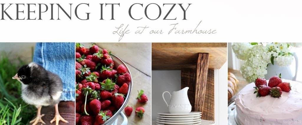 Keeping It Cozy blog logo