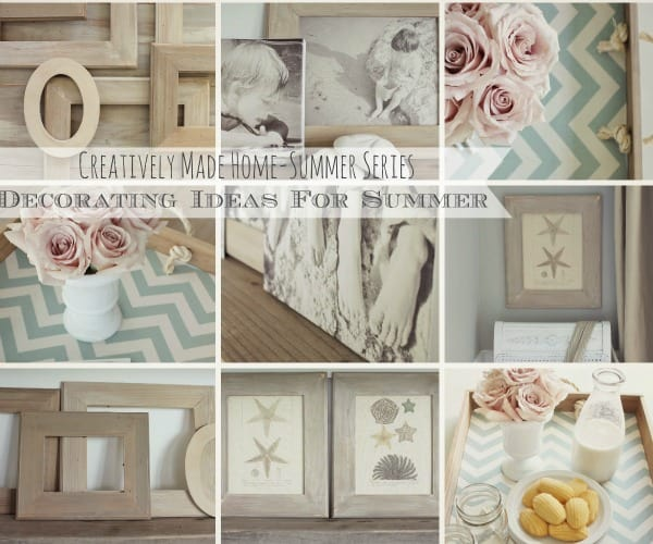 Creatively Made Home Summer Decorating Series from City Farmhouse