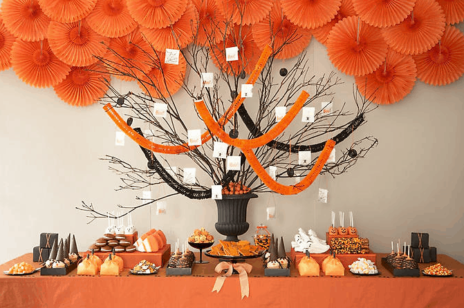 Halloween Dessert Table, Amy Atlas