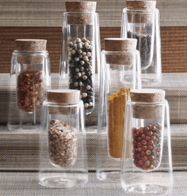 Double Wall Spice Jars from bomisch