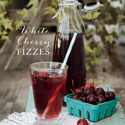 White Cherry Fizzes :: Summer Drink Recipe