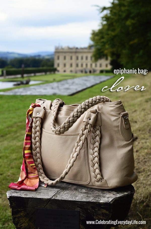 Epiphanie Bag, Clover Epiphanie Bag in Camel, Celebrating Everyday Life with Jennifer Carroll