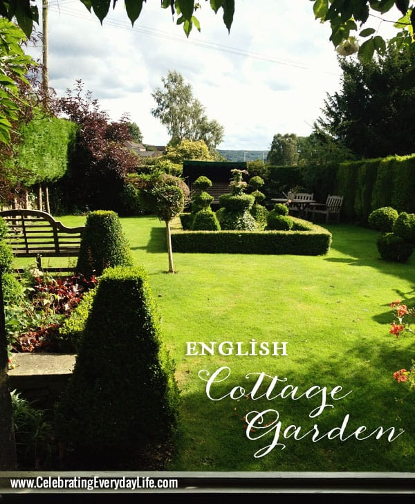 English Country Garden, Celebrating Everyday Life with Jennifer Carroll blog