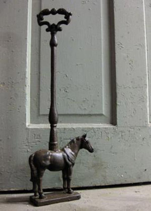 Rustic Horse Doorstop, Farmhouse Wares
