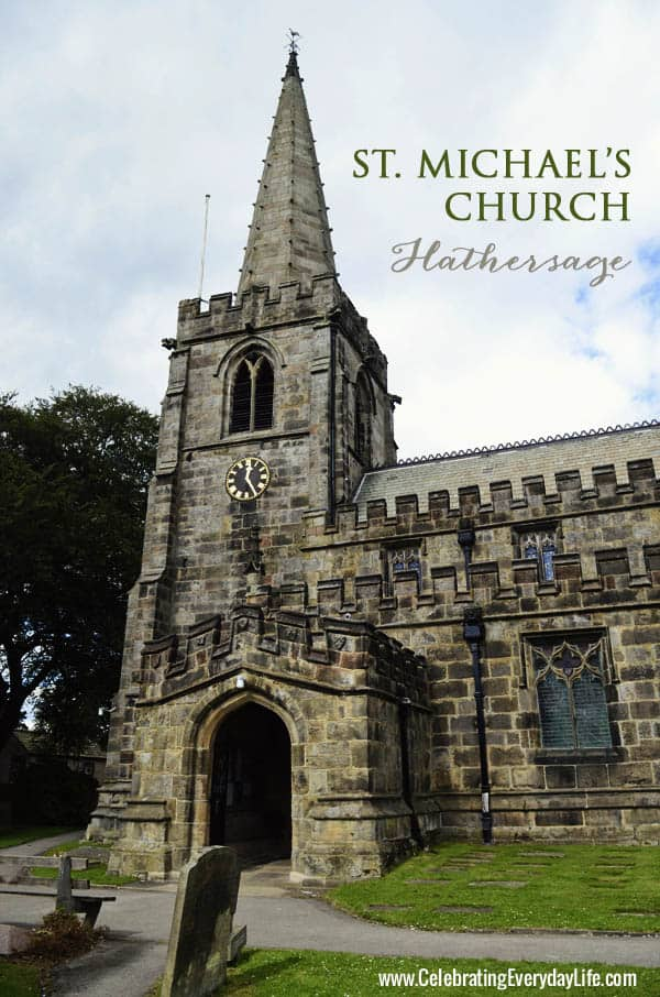 St. Michael's church, Hathersage, England, Celebrating Everyday Life with Jennifer Carroll