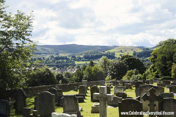 St. Michael's church graveyard, Hathersage, England, Celebrating Everyday Life with Jennifer Carroll