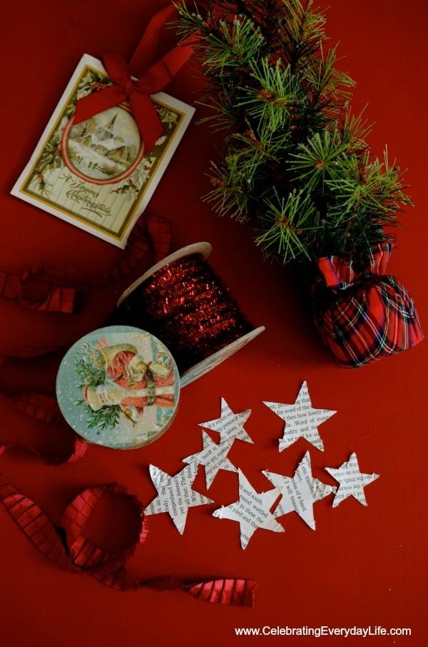 Red Christmas Inspiration, Celebrating Everyday Life with Jennifer Carroll