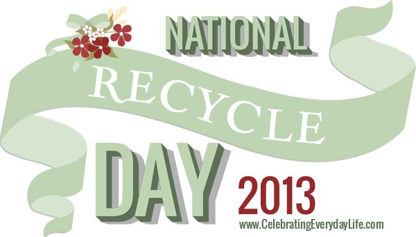 National Recycle Day Banner, Celebrating Everyday Life with Jennifer Carroll